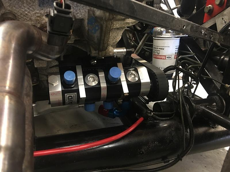 Engine And Dry Sump Oiling System Install John George Racing